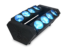 8*10W RGBW Spider Light