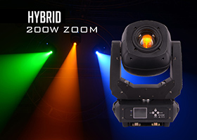 200W Hybrid LED Moving Head
